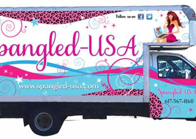 Spangled_Clothing_vehicle_graphics