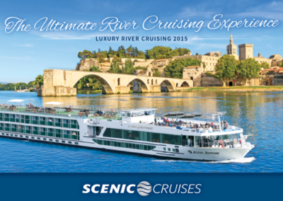 Scenic Cruises travel brochure